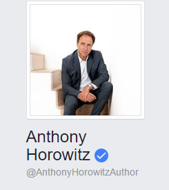 The Official Anthony Horowitz Facebook page is live!