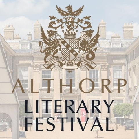 Anthony at Althorp Literary Festival