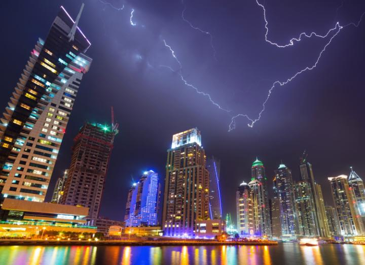 Dubai is always on the move – except when it rains